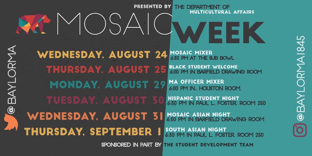 Mosaic Week