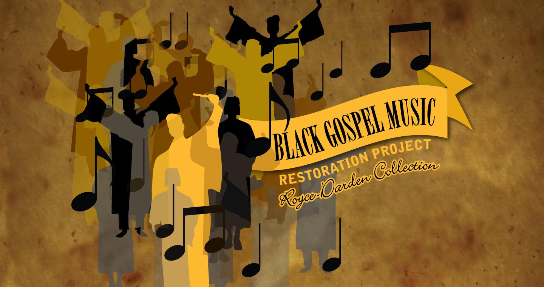 Black Gospel Music Moments Banner