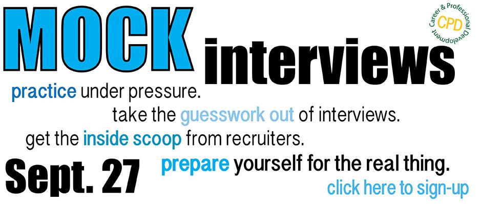 Mock<br> Interviews