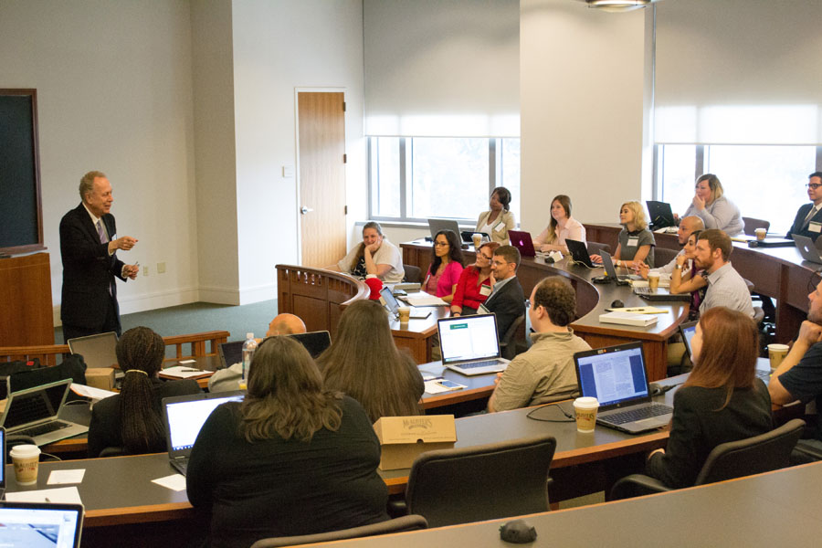 A Class is lead by Judge Royal Furgeson at Baylor Law