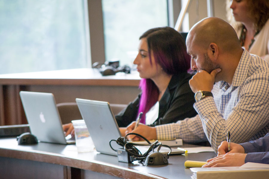 Students take note at Baylor Law's Legal Mapmaker Clinic