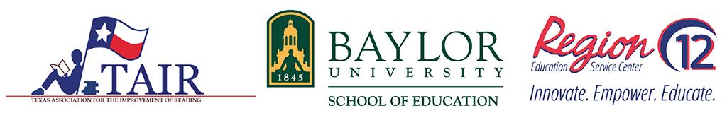 Logos for TAIR, Baylor SOE and Region 12