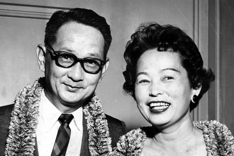 Takashi and Yuki Kitaoka