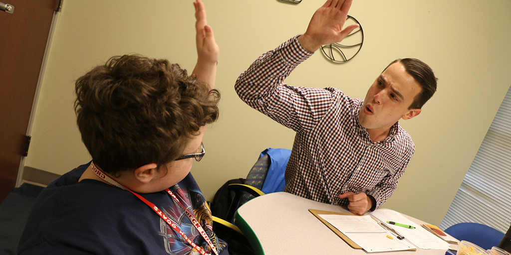 Therapy at the Baylor Center for Developmental Disabilities