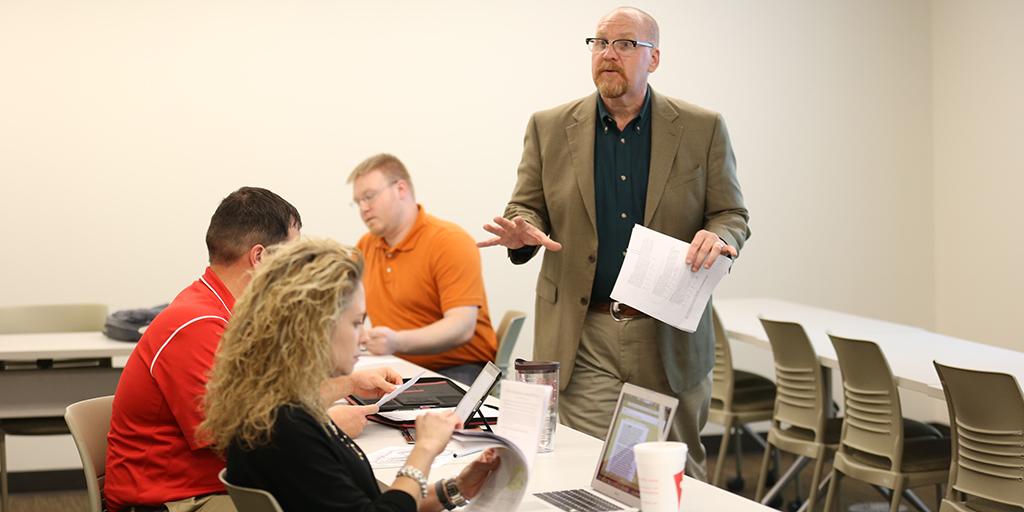 Dr. Tony Talbert teaching