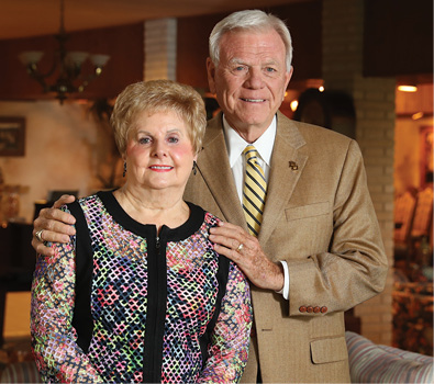 Headshot of Winners of Baylor Legacy Award: Don and Jenny Riddle