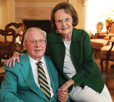 Headshot of Winners of Baylor Legacy Award: Carroll and Aline Webb