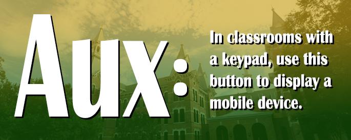 Classroom Tip: Aux