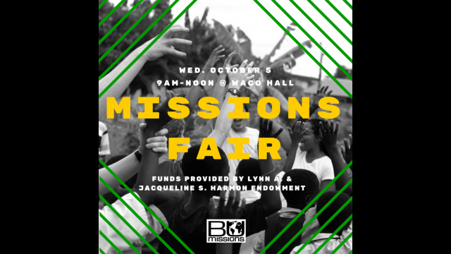 2016 Missions Fair