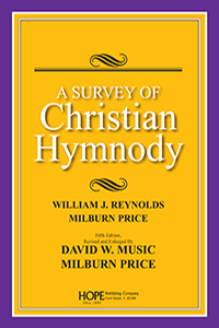 Book Cover of A Survey of Christian Hymnody