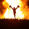 [homecoming bonfire]