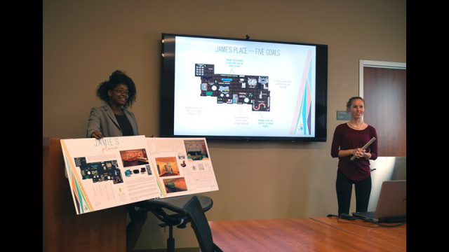 Interior Design Students Create Plan for Local Grief Counseling Center