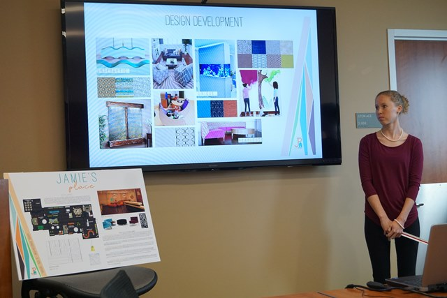 Interior Design Students Create Plan For Local Grief