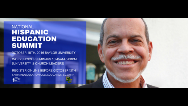 National Hispanic Education Summit to be Held Oct. 18 at Baylor
