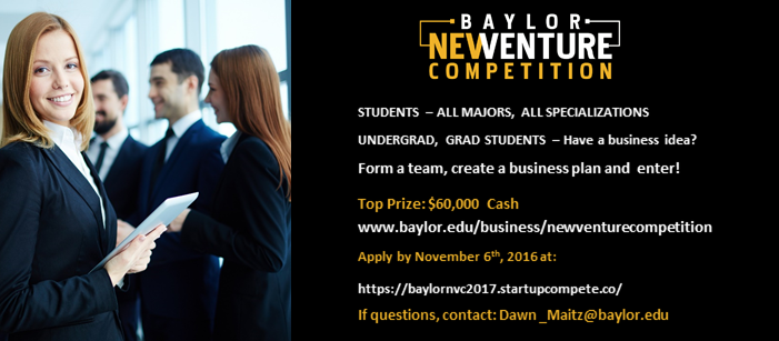 Banner: New Venture Competition