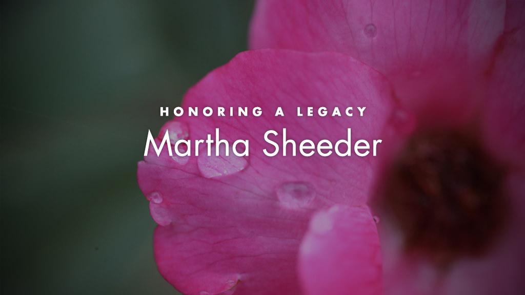 Martha Sheeder Endowed Scholarship in Nursing