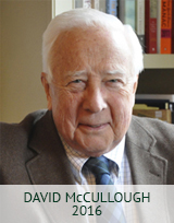 DAVID McCULLOUGH 2016