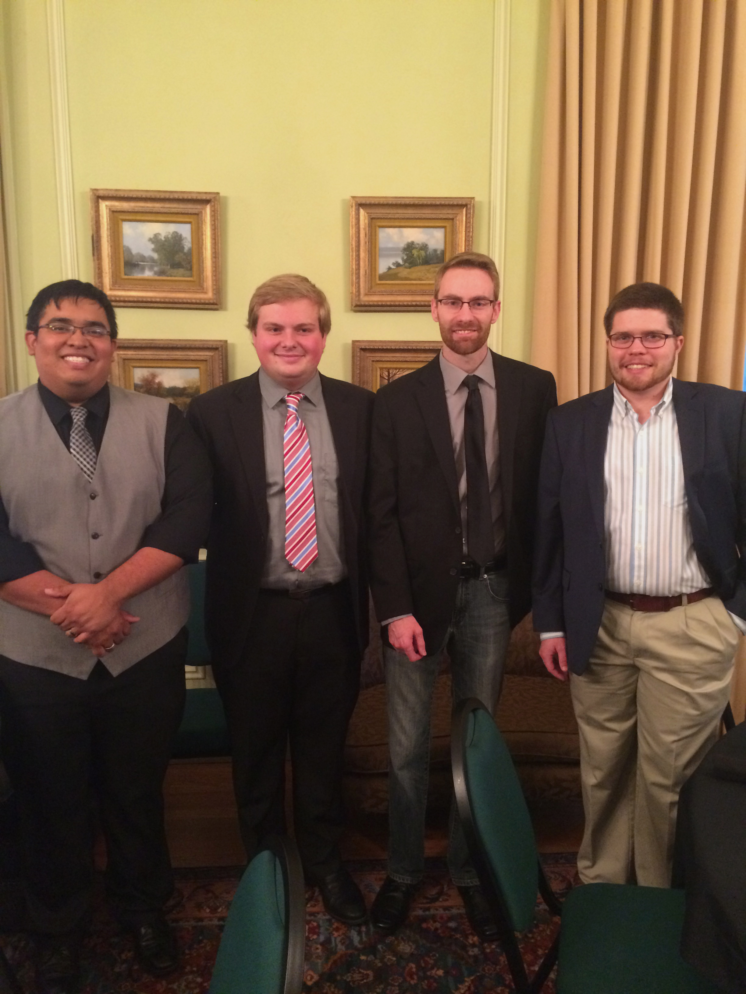 Guittard Dinner 2016 - Student Recipients