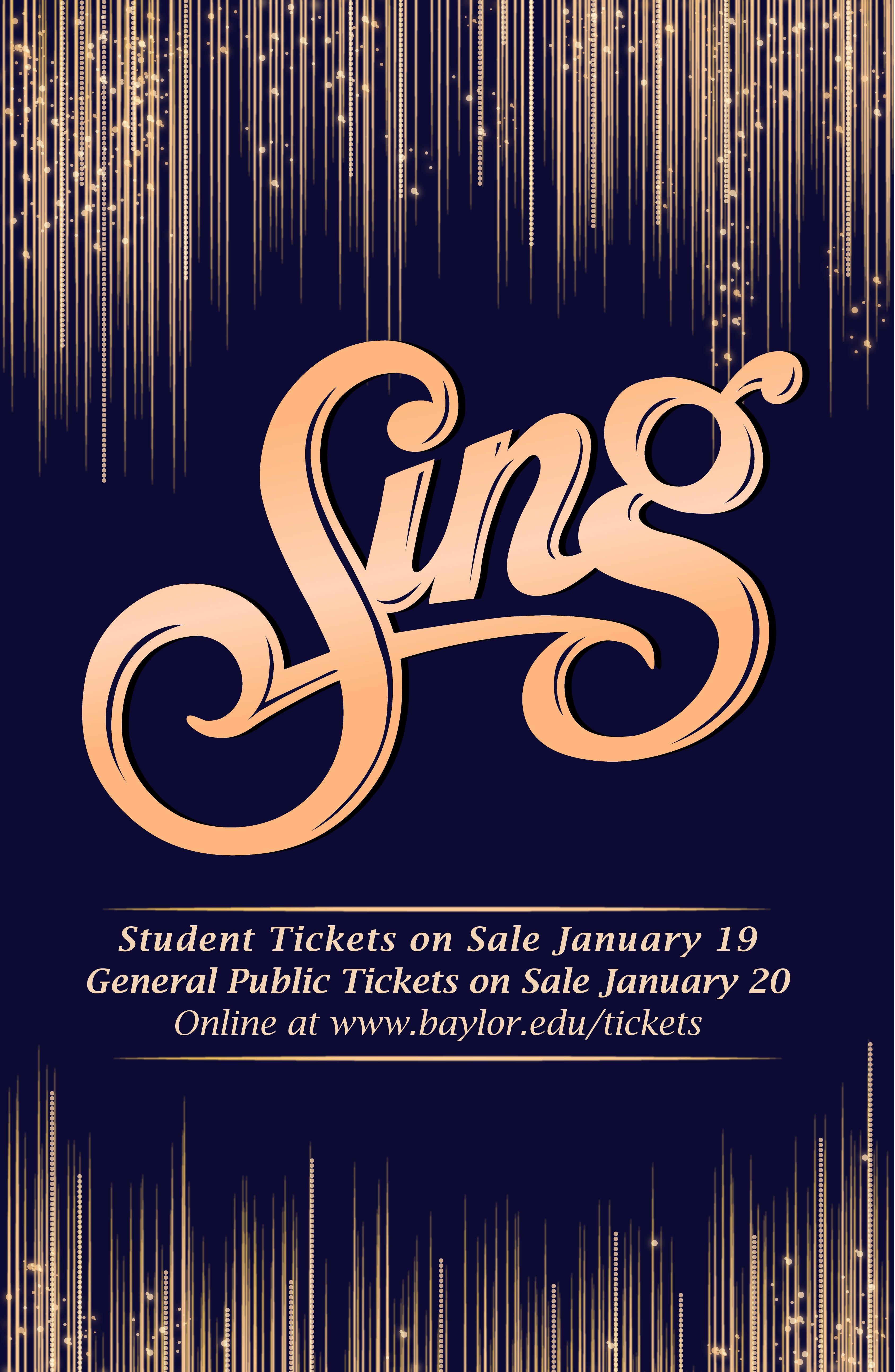 All-University Sing Tickets