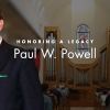 [Paul W. Powell memorial graphic]