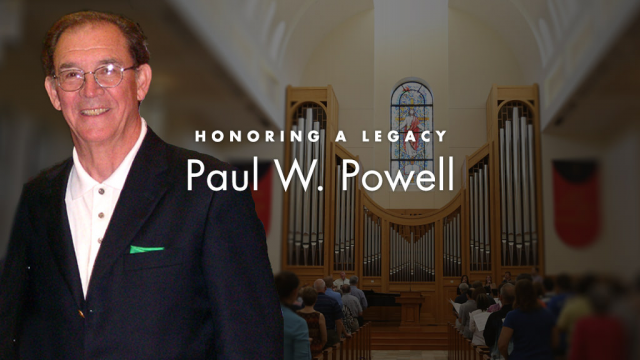 Full-Size Image: Paul W. Powell memorial graphic