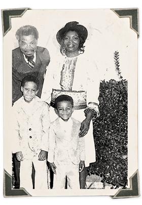 Gilbert and family