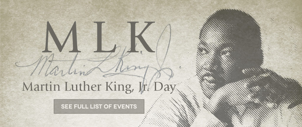 Martin Luther King Jr Day events at Baylor