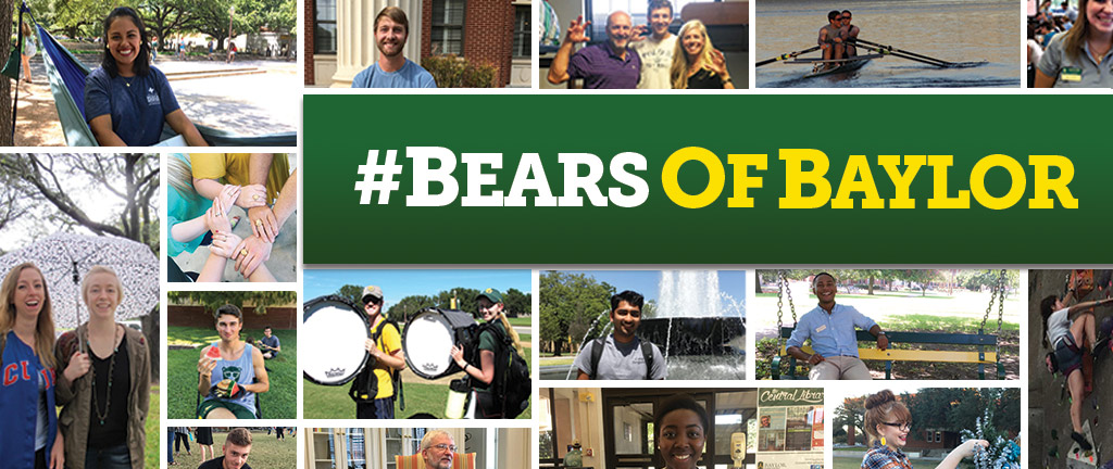 Bears of Baylor features snippets on various members of the Baylor community