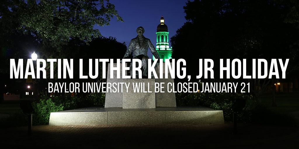 Holiday Message MLK