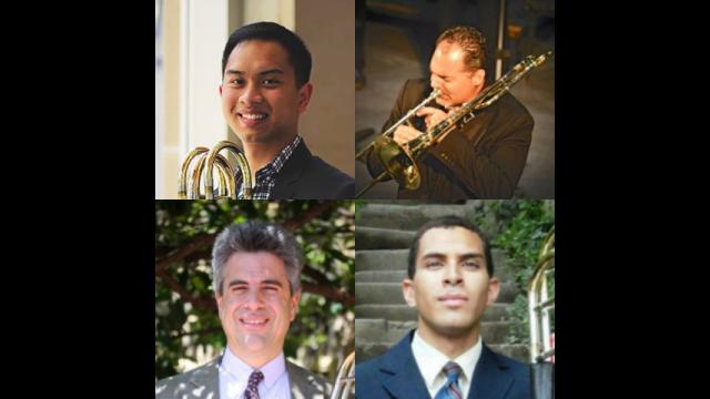 Tex trombone quartet