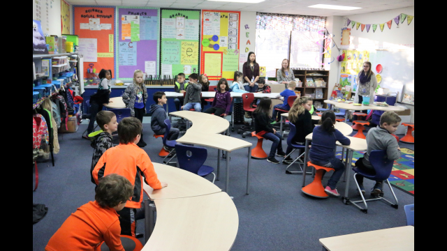 Spring Valley Elementary classroom