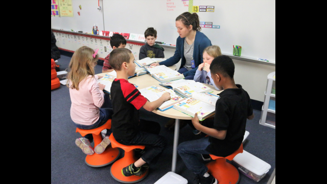 Spring Valley Elementary classroom2