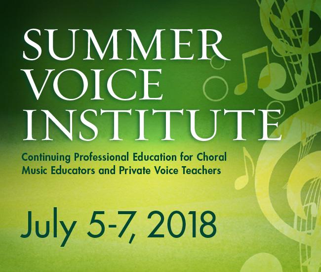 Summer Voice Institute graphic