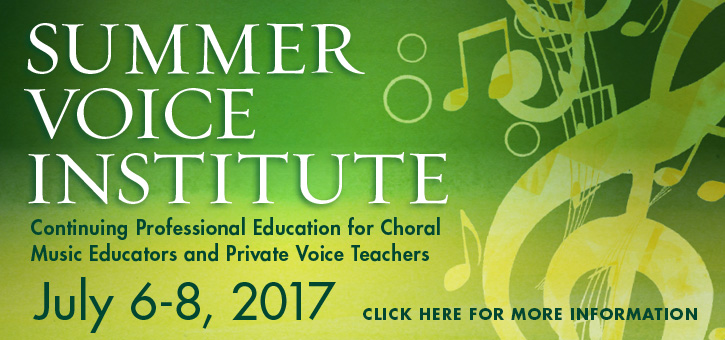 Banner_Summer Voice Institute 2017