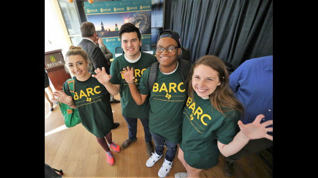 BARC students bear claw