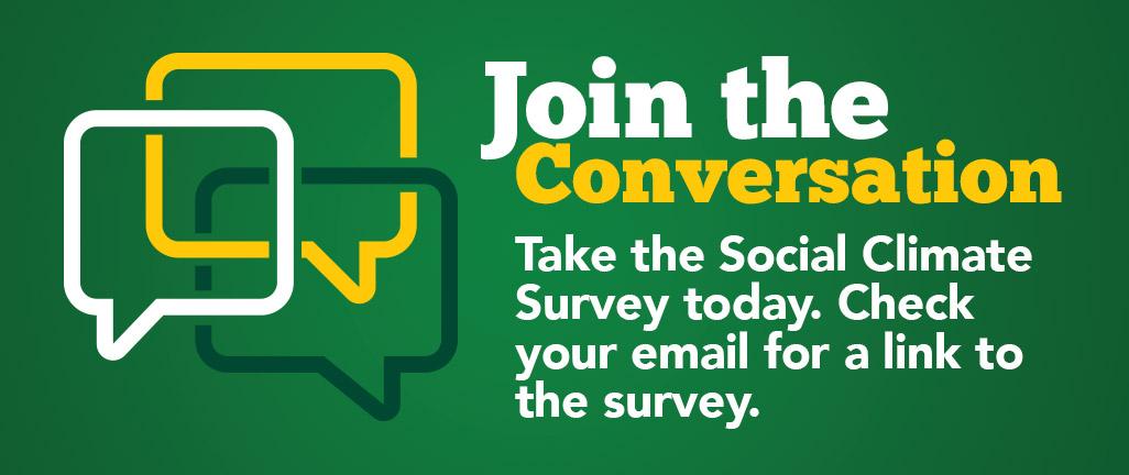 Join the Conversation: Title IX Social Climate Survey