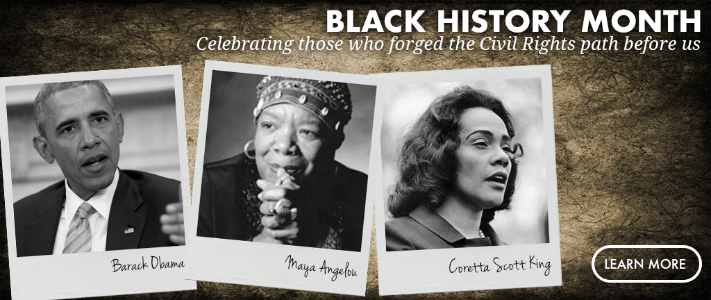 Black History Month 2017 Homepage Slide