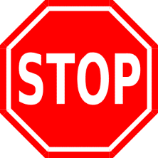 ALEX Stop Sign