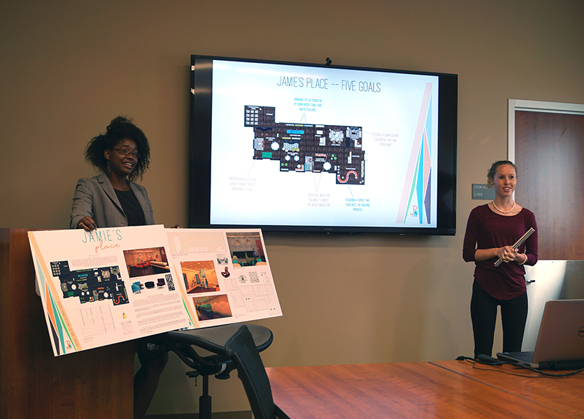 Students Create Design for Counseling Center