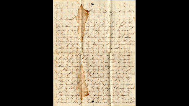 Love and War: Digitized Letters Preserve the Tale of a Texas Girl, Her Confederate Sweetheart and their Secret Engagement