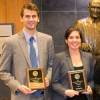 Amber Morrison and Hunter Ratcliff Win Baylor Law's Client Counselling Competition