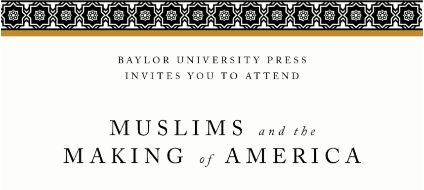 Muslims and the Making of America Banner