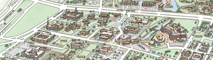 Baylor University Campus Map SHOUT! Directions & Parking | Libraries | Baylor University