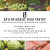 Baylor Mobile Food Pantry