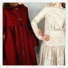 [Annelise Ingram coat and dress]