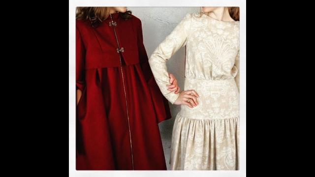 Annelise Ingram coat and dress