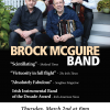 Brock McGuire Band in Concert March 2