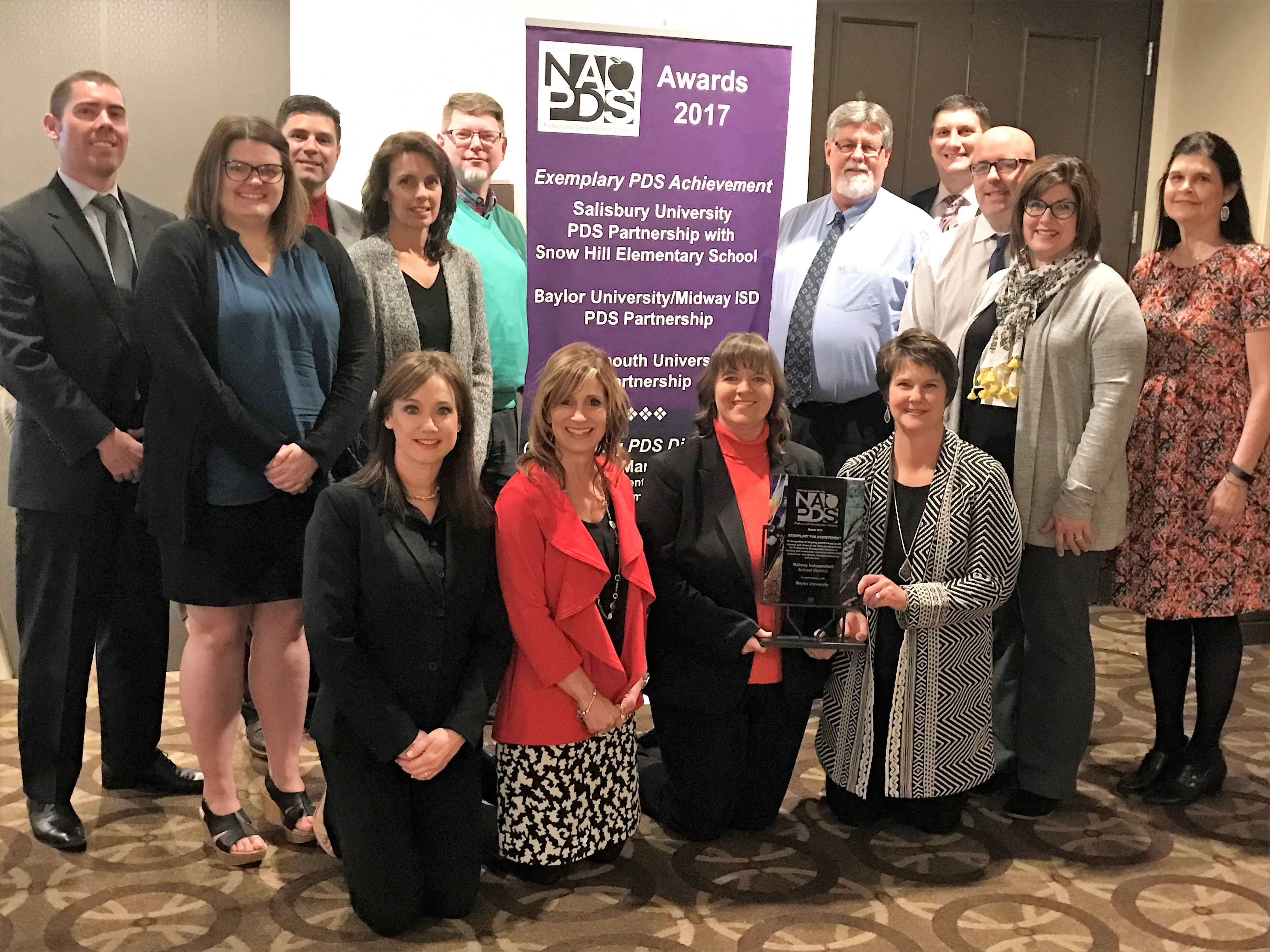 Baylor School of Education-Midway ISD Partnership Receives