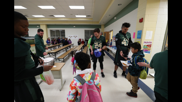 THI Baylor Football at La Vega Elementary