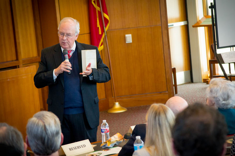 Ken Starr presents the opening for the Chiles Federalist Papers Lecture
